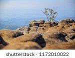 beautiful sunset at mountain...   Shutterstock . vector #1172010022