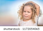 outdoor portrait of a smiling... | Shutterstock . vector #1172054065