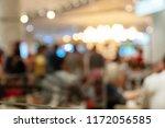 defocused bokeh light at... | Shutterstock . vector #1172056585