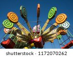 Colorful Carnival Rides For...