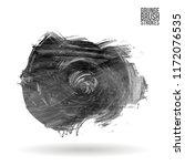 grey brush stroke and texture.... | Shutterstock .eps vector #1172076535