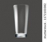 glass transparent background    Shutterstock . vector #1172103382