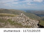 stone cairn or wainwright at... | Shutterstock . vector #1172120155