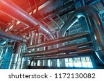 equipment  cables and piping as ... | Shutterstock . vector #1172130082