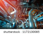 equipment  cables and piping as ... | Shutterstock . vector #1172130085