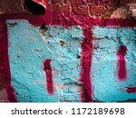 canvas with hand drawn abstract ... | Shutterstock . vector #1172189698