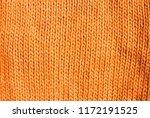 trend russet orange woolen... | Shutterstock . vector #1172191525
