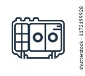 voice recorder icon isolated on ...   Shutterstock .eps vector #1172199928