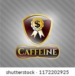 gold emblem or badge with... | Shutterstock .eps vector #1172202925