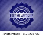free membership jean or denim... | Shutterstock .eps vector #1172221732