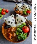homemade japanese cuisine  ... | Shutterstock . vector #1172242072