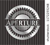 aperture silvery emblem | Shutterstock .eps vector #1172255248