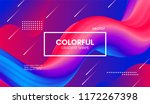 abstract modern background with ... | Shutterstock .eps vector #1172267398
