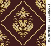 classic seamless vector pattern.... | Shutterstock .eps vector #1172282125