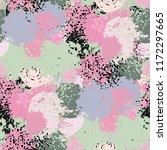 abstract art seamless pattern.... | Shutterstock .eps vector #1172297665