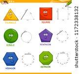 educational cartoon... | Shutterstock .eps vector #1172338132