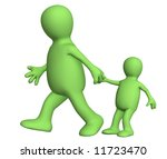 puppet   adult  pulling for a... | Shutterstock . vector #11723470