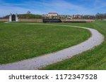 path near schloss hof castle in ...   Shutterstock . vector #1172347528
