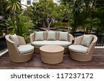 Luxury Lifestyle Sofa And Gree...