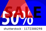 special sale banner or sale... | Shutterstock .eps vector #1172388298