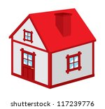 house icon   Shutterstock .eps vector #117239776
