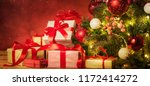 christmas and new year holidays ... | Shutterstock . vector #1172414272