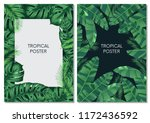 vector design cards and banners ... | Shutterstock .eps vector #1172436592