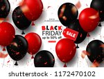 black friday sale background... | Shutterstock .eps vector #1172470102