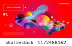 creative geometric wallpaper.... | Shutterstock .eps vector #1172488162