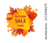 template design discount banner ... | Shutterstock .eps vector #1172498275