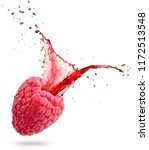 red juice splashing out of a...   Shutterstock . vector #1172513548
