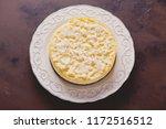 homemade delicious coconut... | Shutterstock . vector #1172516512