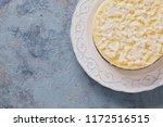 homemade delicious coconut... | Shutterstock . vector #1172516515