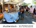 ibiza  balearic islands  spain  ... | Shutterstock . vector #1172521222