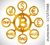 world currencies design... | Shutterstock .eps vector #1172570488