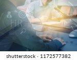 human resources management... | Shutterstock . vector #1172577382