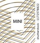 minimal vector cover. linear... | Shutterstock .eps vector #1172578822