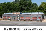 hickory  nc  usa 9 2 18  shell... | Shutterstock . vector #1172609788