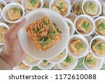 many cheap noodles.uncooked... | Shutterstock . vector #1172610088