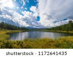 lake in the altai mountains ...   Shutterstock . vector #1172641435