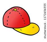 cartoon doodle peaked cap | Shutterstock .eps vector #1172656555