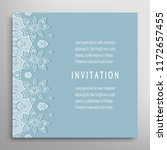 invitation or card template... | Shutterstock .eps vector #1172657455