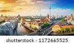 Panoramic View At The Berlin...
