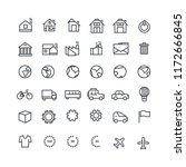 vector illustration. set of 36...