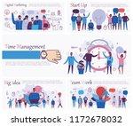 set of vector concept...   Shutterstock .eps vector #1172678032