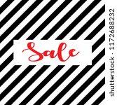 lettering sale simple wallpaper | Shutterstock .eps vector #1172688232
