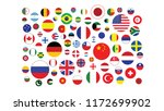 world flags pattern symbol... | Shutterstock .eps vector #1172699902