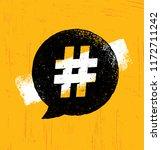 hashtag creative rough internet ... | Shutterstock .eps vector #1172711242