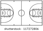 ball,basket,basketball,black,court,drawing,field,graphic,illustration,isolated,layout,lines,pitch,recreation,sport
