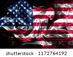 national flag of united states... | Shutterstock . vector #1172764192